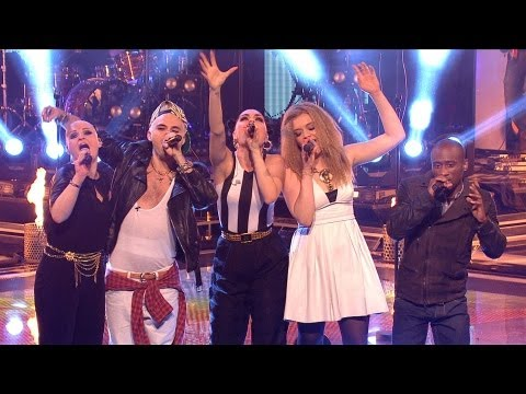 Jessie J and her team - We Are Young (Live)