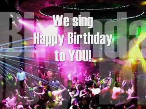 Happy  B-day - We sing Happy Birthday to you