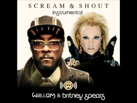 Will.i.am feat. Britney Spears - Scream And Shout (минус)