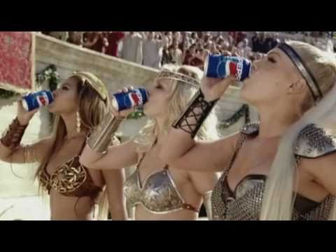 Britney Spears, Beyonce,Pink - We Will Rock You (Pepsi 'Gladi